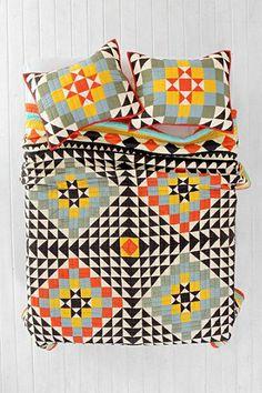 Kaleidoscope Patchwork Quilt