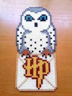 Hedwig Harry Potter Hama beads by isaletheia