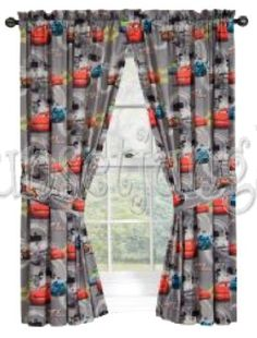 Nice Disney Cars Drapes
