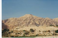Mount of Temptation Jericho - Israel