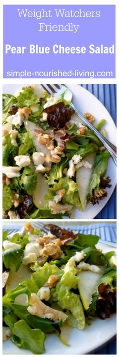 salad with walnuts and blue cheese | Salad Recipes | Pinterest | Blue ...