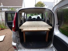 How to turn a Toyota Funcargo into a campercar  Yaris Verso, campervan, DIY,