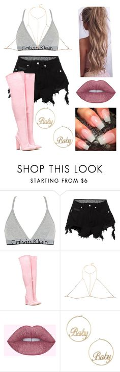 """""""Untitled #755"""" by kennpaige ❤ liked on Polyvore featuring Calvin Klein Underwear, County Of Milan, Nasty Gal, Grace Bijoux and Forever 21"""