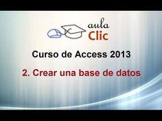 Curso de Access 2013. 2. Crear una base de datos.