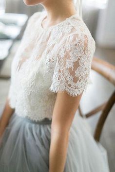 Pretty, delicate, lacy, floaty perfection - #bllusademujer #mujer #blusa #Blouse