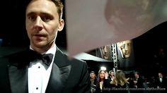 Tom Hiddleston. #EEBAFTAs 2015 By Irene Slytherclaw. Via Torrilla.tumblr.com