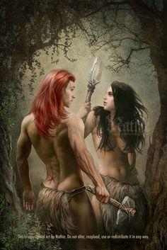 Loki and Angrboda