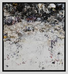 Recipe For A Painter: Michael Chow Aka Zhou Yinghua ~O-O~ God Bless Christie's (2013) Mixed media: household paint with precious metals and trash 182.88 x 167.64 cm (72 x 66 in.)