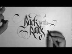 Calligraphy with Parallel pen by Pilot.