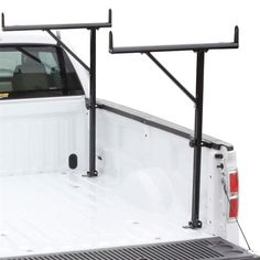 Vantech Single-Sided Truck Bed Ladder Rack P6000B | DiscountRamps.com