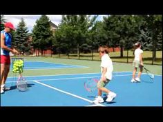 beginner tennis drills for kids Tennis Camp, Tennis Party, Tennis Videos, Tennis Tips, Tennis Ball Crafts, Tennis Lessons For Kids, Warm Up Games, How To Play Tennis, Tennis Elbow