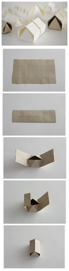 folded...would be so cute hung in a group as a mobil...or made from maps of placces we've lived!