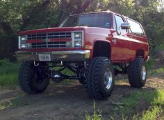 May 2013 red Chevy Blazer Source by randireel Chevy Diesel Trucks, Chevy Pickup Trucks, Classic Chevy Trucks, Chevy Pickups, Chevrolet Trucks, Ford Trucks, Chevy 4x4, 1957 Chevrolet, Chevrolet Impala