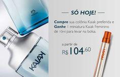 PROMOÇÃO NATURA KAIAK   Comprando online qualquer Desodorante Colônia da linha Kaiak de 100ml, você ganha uma colônia Kaiak feminina de 10ml. São itens a partir de R$ 104,60. Promoção válida até 23/08, aproveite já!  #natura #kaiak #naturakaiak #perfume #fragrância #perfumaria #perfumarianatura #brinde #redenatura #compraonline #chamenatura #chamequevem  http://rede.natura.net/espaco/spacofabi/nossos-produtos/kaiak-62b