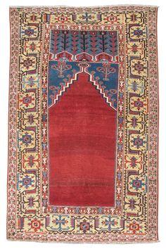 Ladik Prayer rug, Turkey, c. 1800