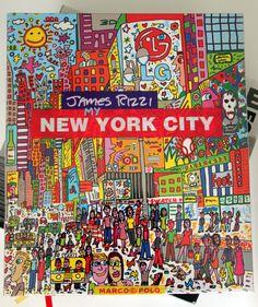 """Geschenke-Tipp für Big Apple Fans: """"My New York City"""" von James Rizzi"""