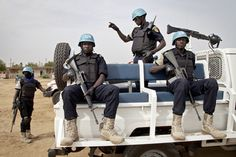UNPOL Officers Get Ready for Patrol in Gao, Mali