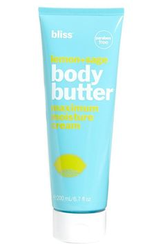 The 11 Best Organic Skincare Products: Best Body Lotion: Bliss Lemon and Sage Body Butter