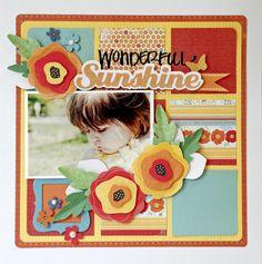 Wonderful Sunshine - Scrapbook.com