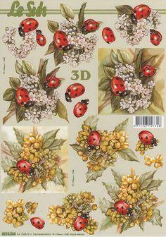 230 more decoupage sheets Image 3d, 3d Sheets, 3d Cards, Card Patterns, Printable Stickers, Cute Crafts, Vintage Flowers, Vintage Paper, Paper Dolls