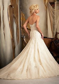 Bridal Gowns Mori Lee 1909 Bridal Gown Image 1