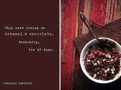 Dark Chocolate Oatmeal by pastryaffair, via Flickr
