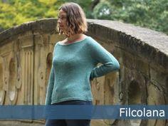 free knitting pattern sweater pullover ladies 250g wool 3mm needle gauge 22st 28r (10cm)