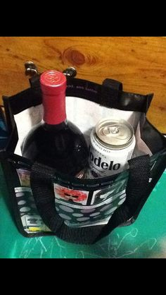 Carry wine bottle by Julia