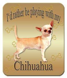 Chihuahua Mouse Pa #chihuahua Mouse Pad