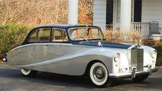 1956 Rolls-Royce Silver Cloud Four-door Six-light Saloon by Hooper