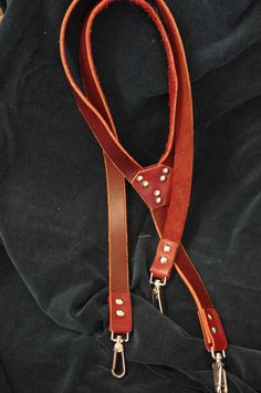 Leather Suspenders Leather Suspenders, Belt, Personalized Items, Accessories, Belts