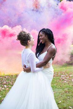 Super Chic Same Sex Wedding | Jenna Bascom Photography | This Modern Love Events | Bridal Musings Wedding Blog