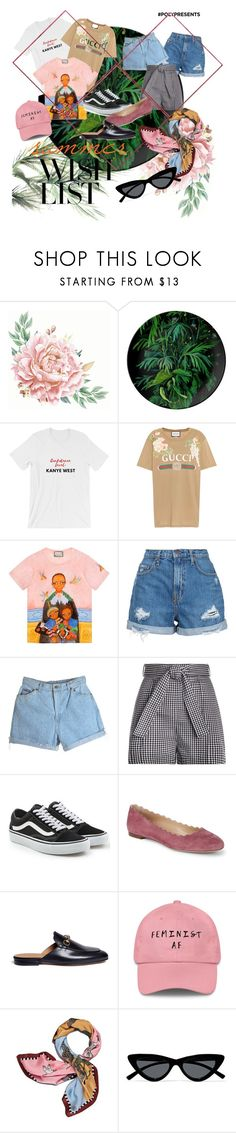 """""""#PolyPresents: Wish List"""" by laviniavieira ❤ liked on Polyvore featuring Eco Style, Gucci, Nobody Denim, Zimmermann, Vans, Chloé, Tory Burch, Le Specs, contestentry and polyPresents"""