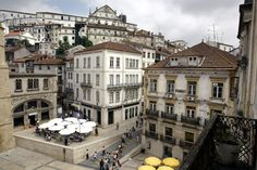 University city - Coimbra - Portugal center.  A Brasileira coffee!!!!!