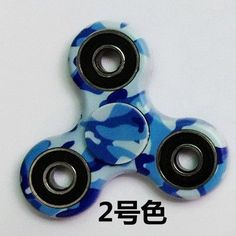 14 Style Camouflage EDC Fidget Hand Spinners