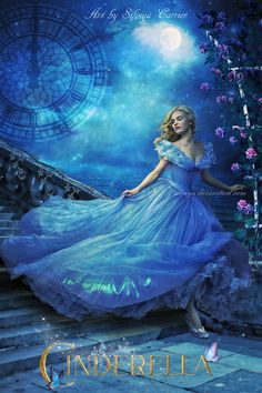 Cinderella by silviya Wedding Dress Cinderella, Cinderella Movie, Cinderella 2015, Disney Live, Cute Disney, Disney Art, Cinderella Wallpaper, Disney Wallpaper, Cinderella Aesthetic
