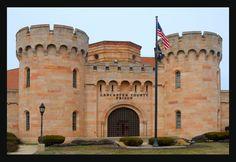 Lancaster County Prison Lancaster, Pennsylvania Photo by: Richard C. Old Pictures, Old Photos, Lancaster County Pennsylvania, Take Me Home, Amish, Back Home, Prison, Louvre, Dutch