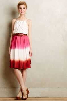 Anthropology skirt  Colors