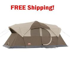 Tent 10 Person Camping Hiking Dome Campers Outdoor Family Cabin Hunting