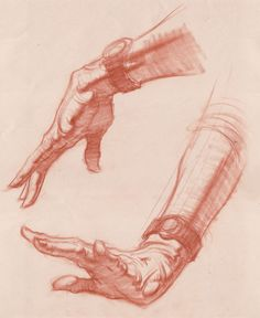 Figure Quick Sketch- 101004_hands_5min