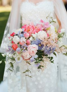 Colorful Farm Wedding by Kate Headley