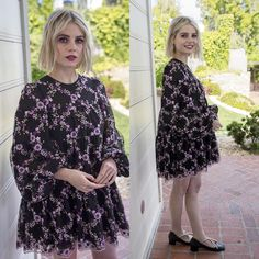 Nathalie Portman Style, Lucy Boynton, Lob Hairstyle, Hairstyles, Fashion Idol, Woman Crush, Girl Crushes, Pretty People, Style Icons