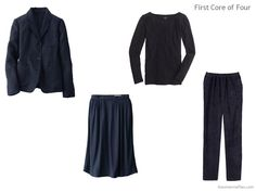 BUSINESS CASUAL Capsule wardrobe inspired by Art: Festival in Montmartre by Gino Severini