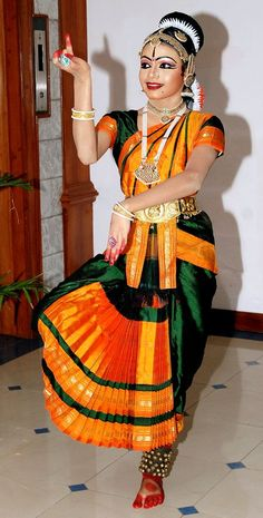 bharatanatyam dress blue - Google Search