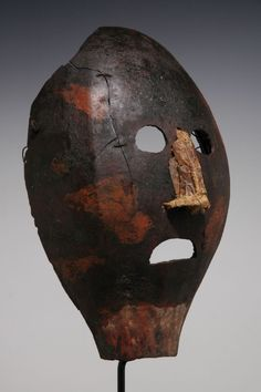 Eastern Highlands Gourd Mask, ex. Moriarity, New Guinea Art ...