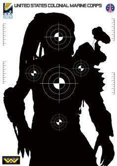 Predator silhouette target