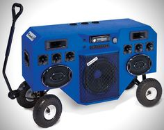 Party On Wheels: Mobile Blastmaster Audio System