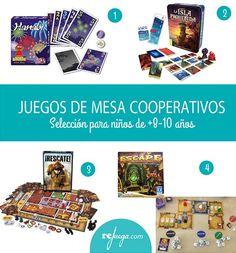 juegos de mesa cooperativos para niños de más de 8 años