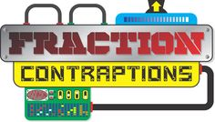 Fraction Contraptions: Create Equivalent Fractions Game  - http://www.mathfilefoldergames.com/fraction-contraptions-create-equivalent-fractions-game/ #MathGame #Fractions