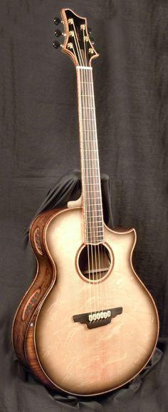 Euphoric Mojo acoustic guitar
